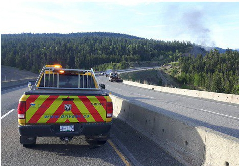 Coquihalla Highway closed both directions south of Merritt