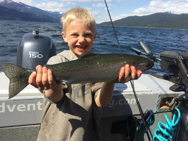 Kootenay Lake Fishing Choice on Kootenay Lake