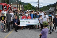 NDCU helps Kootenay Lake Skate Park Society reach dream by donating $10,000 on Go Skateboarding Day