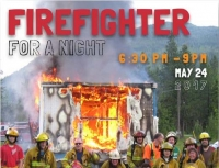 Salmo hosts 'Be a Firefighter for a Night'