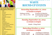 Get ready for the RDCK hazardous waste round up