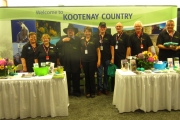 Welcome to Kootenay Country booth off to Niagara Falls