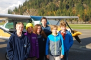 Air Cadets take flight over Kootenay River Valley