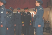 561 Nelson Osprey Squadron, Royal Canadian Air Cadets hold 64th Annual Ceremonial Review