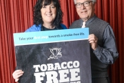 BC Lung Association Director Challenges Nelson Smokers to Quit for 1 Day and Win
