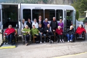 Community rallies together to present new bus to Jubilee Manor residents