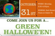 Green Halloween celebrations at Hall Street Plaza a start for better future
