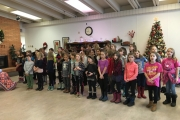 Spreading the festive sounds of the season — Hume Elementary School Choir
