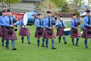 Kootenay Kiltie Pipe Band finish third at Kamloops Spring Fling