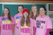 LVR students join in fighting bullying on Pink Shirt Day