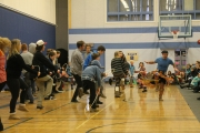 World Hoop Dancer Teddy Anderson wows Wildflower students