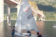 Nelson, Trail Sea Cadets test sailing skills on Kootenay Lake