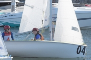Nelson's Kaden Ellis participates in Nationa Sea Cadet Regatta