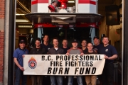 Nelson Firefighters chip in to help burn victims