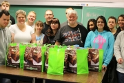 Transitional Training Students at Selkirk College Spread Holiday Cheer