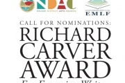 Call for Nominations: Carver Award for Emerging Writers