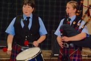 Kootenay Kiltie Pipe Band Burns Night a hit