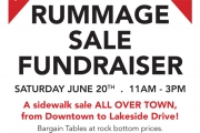 'Fundraising Rummage Sale' Saturday in Downtown Nelson