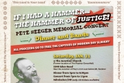 Justice at the Junction announces a Pete Seeger Memorial  benefit concert