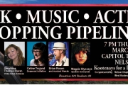 'Talk, Music, Action' evening at the Capitol Theatre