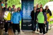 Telus Community Ambassadors support CNIB Night Steps fundraiser