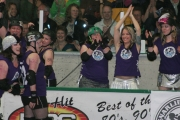 But in the end, the Dam City Rollers celebrated the victory.