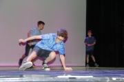 Breakdancing was just one of the disciplines on display during practice for this weekend's Dance Umbrella Spring Showcase set for the Capitol Theatre. — Bruce Fuhr photos, The Nelson Daily