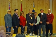 Council sworn in; Tassone speaks to goals