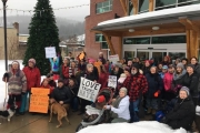 Marchers from across the region join Castlegar's Women's March on Washington