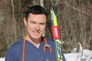 Retired National Cross Country Ski Team member George Grey studies in the Nursing Program at Selkirk College. The passion and drive that took him twice to the Olympics now fuels his quest for a new career helping people.