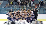 The Beaver Valley Nitehawks were all smiles after winning the KIJHL title.