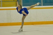 Christina Champlin's silver medal in the Senior Silver level was just one of the many highlights for the Nelson Figure Skating Club this season. — Submitted photo