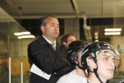 Leaf coach Frank Maida resigned after three seasons as skipper of the Heritage City franchise.