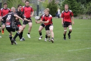The ball was bouncing the way of the Bears (red jerseys) Thursday in High School Rugby action at the Lakeside Pitch in Nelson. — Bruce Fuhr photo, The Nelson Daily