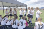 The LVR Bombers are off to a great start this BC High School AA Girl's soccer season. — Submitted photo