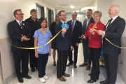 Health Minister Terry Lake and Boundary-Similkameen MLA Linda Larson were in Trail last week to announce a new emergency department that will enhance patient care at Kootenay Boundary Regional Hospital. — Submitted photo