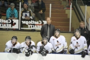 Rebels head coach Steve Junker skippered Castlegar to the 2013 KIJHL title Monday in the Sunflower City. — The Nelson Daily photo