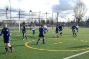The U15 Girls squad gets put through training during the HPP Showcase training week in Vancouver. — Photo courtesy Vancouver Whitecaps