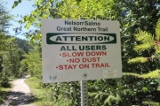 The Nelson/Salmo Great Northern Trail near Ymir is being closed to public traffic beginning Tuesday. — The Nelson Daily file photo
