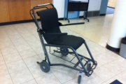 The wheelchair, estimated at $1200, has gone missing from KLH. — Submitted photo