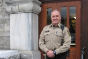 Nelsonite Dave Zarikoff completed his first shift as a sheriff following an extensive 16-week training course. — Photo courtesy BC Sheriffs