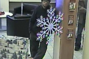 RCMP released a photo of the suspect believed to have robbed the Princeton CIBC Monday. — Submitted photo