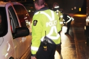 Local police will be on patrol during the holiday season, setting up a few road blocks looking for impaired drivers.