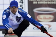 Jim Cotter of Vernon is heading back to the Tim Horton's Brier after winning the BC Championship Sunday in Vernon.