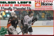 Despite the up and down season Leaf captain Aaron Dunlap likes his team's playoff chances. — The Nelson Daily photo