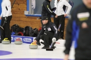 All eyes at the 2016 Canadian Direct Insurance BC Men's Curling Championships are on defending champion Jim Cotter, who took to the ice Tuesday for a practice session at the Nelson Curling Club. — Bruce Fuhr, The Nelson Daily