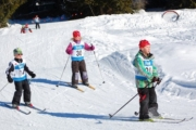 The younger peewee skiers treated the crowds to a great race during Sunday's Teck Kootenay Cup race. — Submitted photo