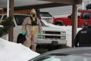 "Members of the RCMP ""E"" Division Response Team for Clandestine Labs determined small quantities of solvents found in the Rosemont residence posed no risk to the community."