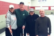 The Chapman rink includes, from left, lead Kathy Centrone, second Darryl Little, third Vivian Benedetti and skipp Bob Chapman. — Submitted photo