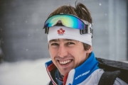 Julien Locke of Nelson dominated the field to win the Korean National's Sprint Thursday at the Alpensia Resort.
